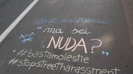 Da New York a Palermo, le molestie verbali si trasformano in scritte colorate sull'asfalto
