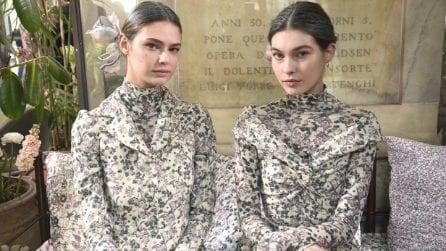 Il nude look della Milano Fashion Week