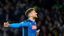 Dries Mertens 122 gol con il Napoli, è record