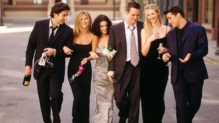 10 anni di Friends: le foto più belle della serie