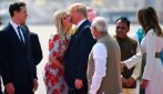 Melania e Ivanka Trump, i look per l'arrivo in India