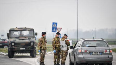 Coronavirus, nella zona rossa arriva l'esercito: militari per presidiare i check point