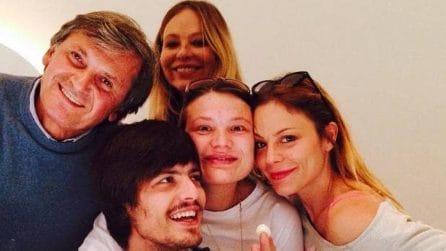 I figli di Ornella Muti: Naike Rivelli, Carolina e Andrea Fachinetti