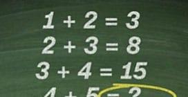 """Il quiz matematico """"semplice"""" ma che in pochi riescono a risolvere"""