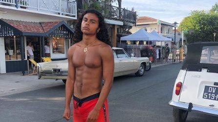 Zakari, il fratello bellissimo e muscoloso di Tina Kunakey