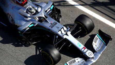 Test F1 a Barcellona, le foto dell'ultima giornata di prove