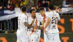Serie A, le immagini di Cagliari-Roma