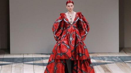 Alexander McQueen collezione Autunno/Inverno 2020-21