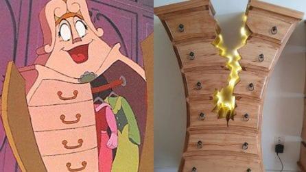 Costruisce mobili che sembrano usciti da cartoni Disney: il falegname diventa una star del web