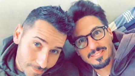 Antonio Lorenzon e il suo futuro marito Daniel