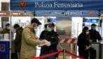 Coronavirus, tutta Italia è zona rossa: intensificati i controlli alla Stazione Termini di Roma