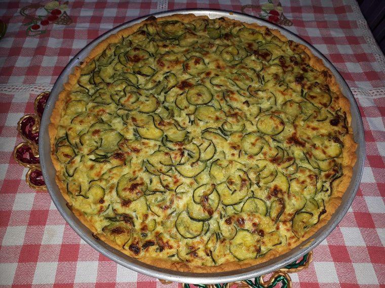 Crostata di zucchine di Francesca marco
