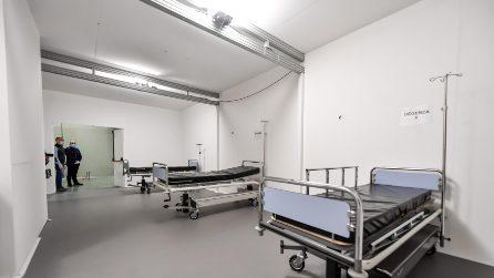 Coronavirus, presentato il primo prototipo dell'ospedale da 400 posti alla Fiera di Milano