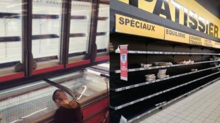 Coronavirus, supermercati vuoti in diversi paesi del mondo