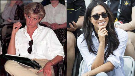 Tutte le somiglianze tra Meghan Markle e Lady Diana