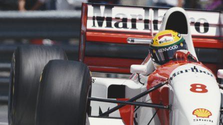 Ayrton Senna e il suo legame unico con il Gp di Monaco