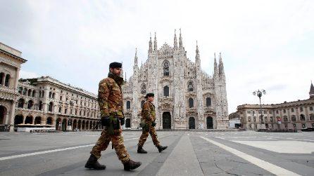 Coronavirus, l'Italia si ferma: le immagini dalle città deserte