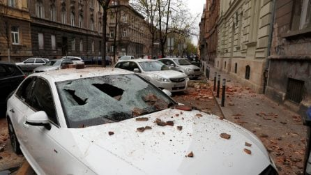 Terremoto in Croazia, scossa di magnitudo 5.4 : grossi danni a Zagabria