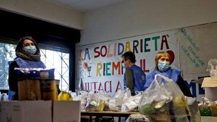 Coronavirus Roma: Sant'Egidio distribuisce aiuti alle famiglie bisognose