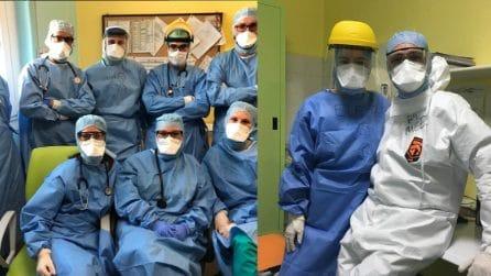 """""""Bergamo non molla"""", medici e infermieri che stanno lottando contro il Coronavirus"""