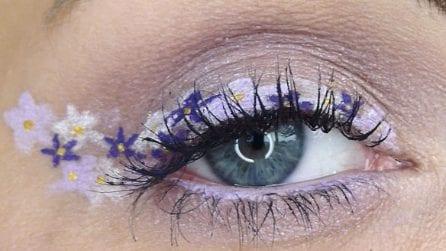 Flower eyeliner, la tendenza beauty 2020 da provare a casa