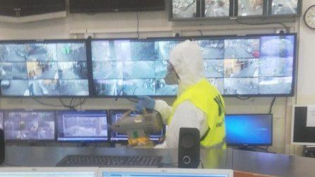 Coronavirus Napoli, sanificati Comando dei vigili e Stazione Chiaia dopo l'allarme casi positivi