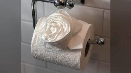 Gli origami con la carta igienica più originali dei social