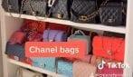 Chiara Ferragni mostra tutte le sue borse griffate