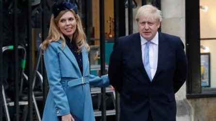 Le foto di Boris Johnson con la compagna Carrie Symonds