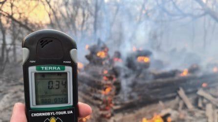 Incendio Chernobyl: radiazioni 16 volte oltre la norma