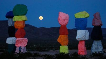 Le splendide immagini della Superluna nel mondo
