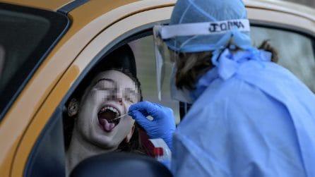 """Coronavirus, Servizio """"Pit-Stop"""" nel torinese: tamponi senza scendere dall'auto"""