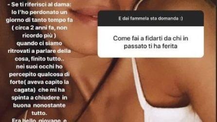 Giulia De Lellis svela perché ha perdonato Andrea Damante