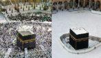 La Mecca è vuota durante il Ramadan, le immagini spettrali