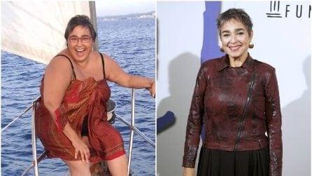 "María Isabel Díaz prima e dopo la dieta, è Sole in ""Vis a Vis"""