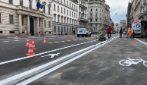 Le nuove piste ciclabili a Milano per la Fase 2: iniziati i lavori