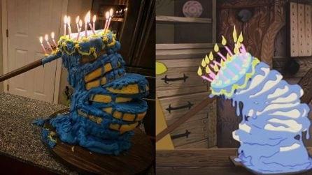 La torta della Bella Addormentata: una sorpresa golosa e originale