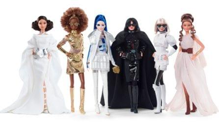 Star Wars x Barbie: le nuove bambole ispirate a Guerre Stellari