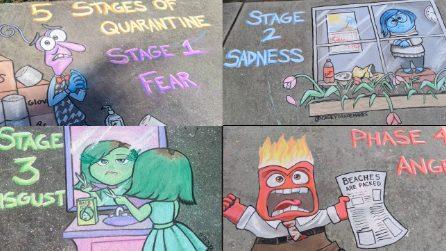 I divertenti disegni sui sentimenti della quarantena: dalla fase 1 alla fase 4