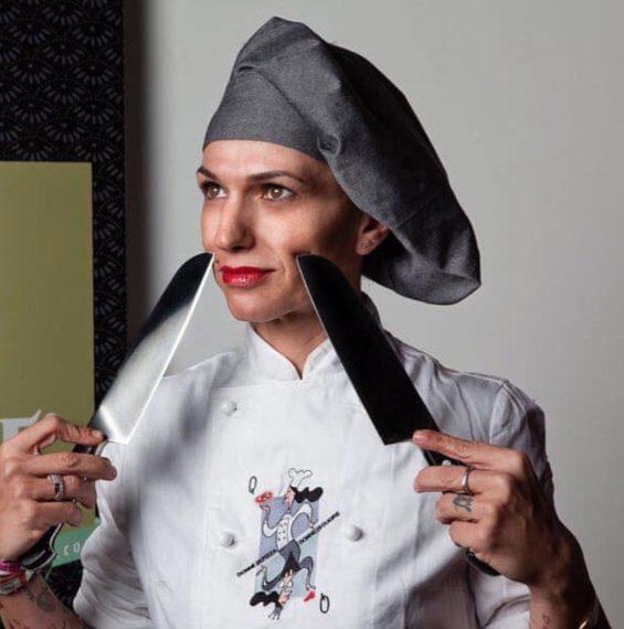 """Petra Antolini è il genio femminile della pizza veronese. Il suo locale, """"Settimo Cielo"""", è tra i più apprezzati in Veneto."""