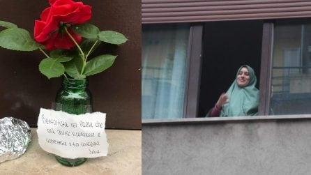 Silvia Romano torna a casa, l'accoglienza a Casoretto