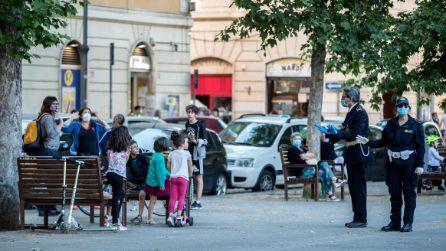 Roma: troppa gente in giro, intervengono i Vigili Urbani