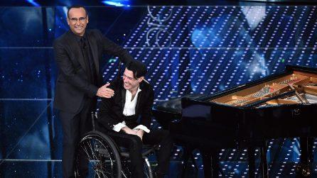 Quando Ezio Bosso incantò il Festival di Sanremo 2016 con Carlo Conti