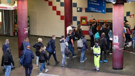 Fase 2: file e resse nelle metro e nelle stazioni di Roma