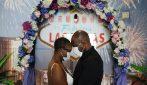 Las Vegas, matrimoni ai tempi del Coronavirus