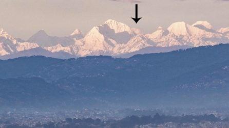 L'inquinamento è diminuito così tanto che si vede l'Everest a quasi 200 km di distanza