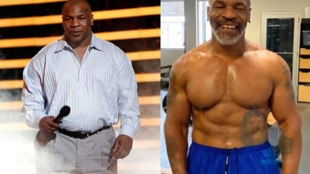 Mike Tyson, la straordinaria trasformazione fisica a 53 anni