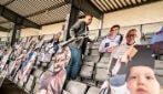 Danimarca, la prima partita con gli spettatori virtuali allo stadio