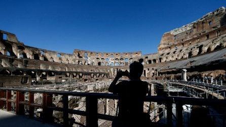 Riaperto il Colosseo dopo tre mesi di chiusura: in poche ore tutto esaurito