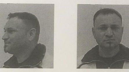 Roma, le foto segnaletiche dei due detenuti evasi dal carcere di Rebibbia